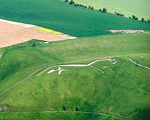 Vandals deface Uffington White Horse in Oxfordshire